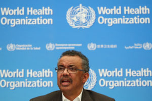 WHO Director conference on coronavirus