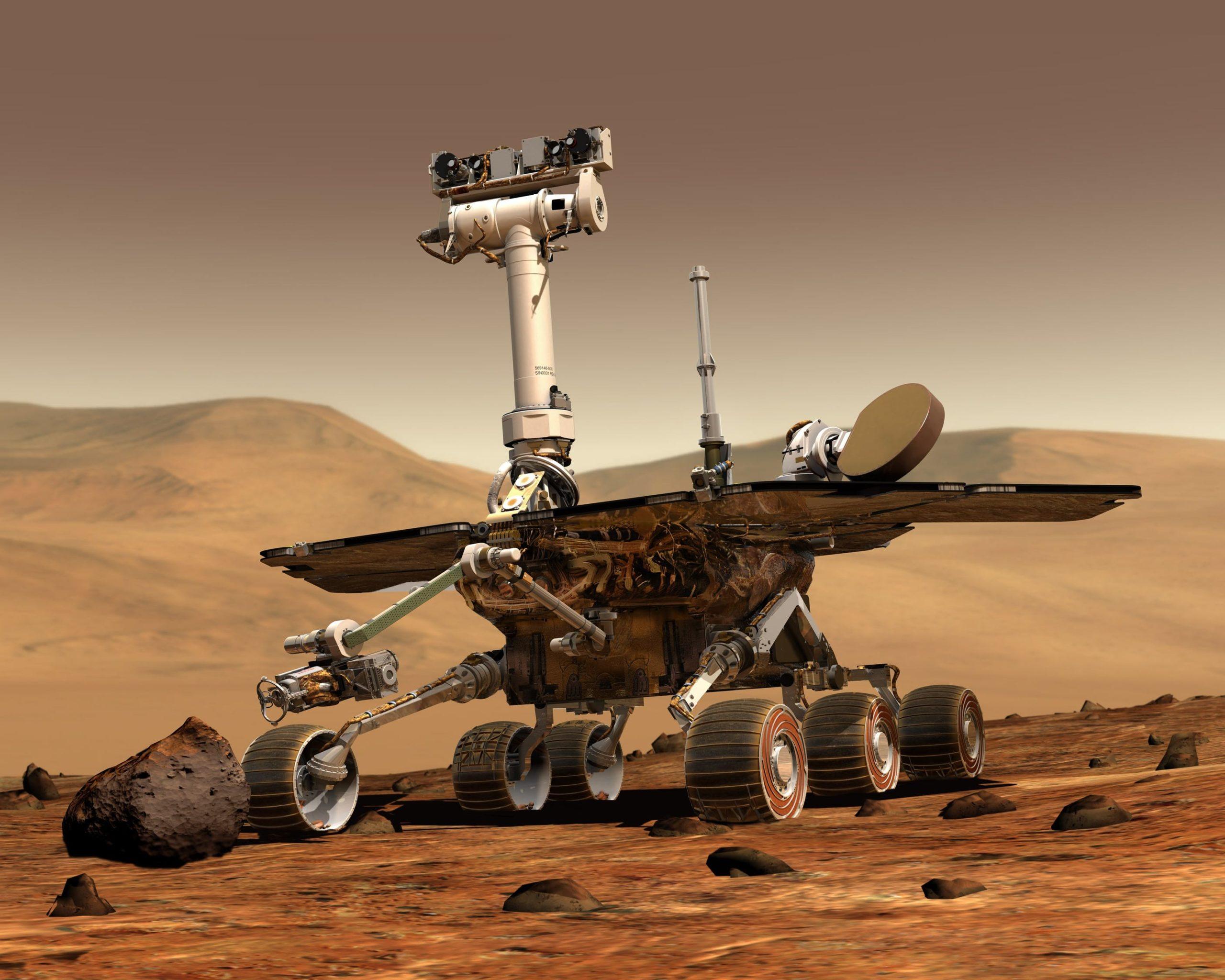 Mars invasion mission