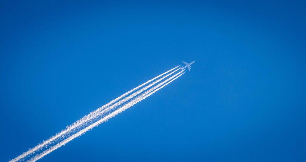 contrail - flight shame movement