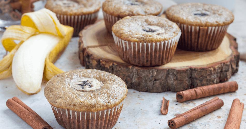 banana muffins home made road trip snack - gallivant