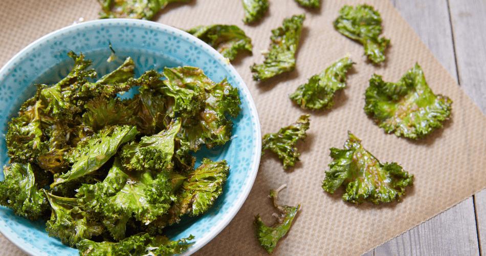 kale baked chips - gallivant