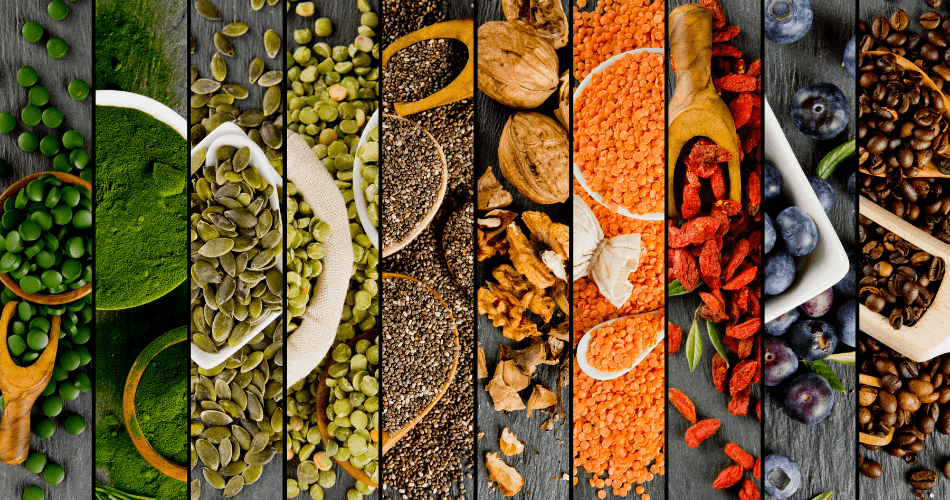 mix superfoods for road trip - gallivant