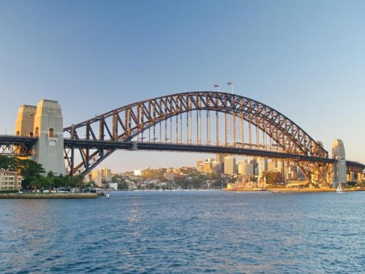 harbour bridge in australia