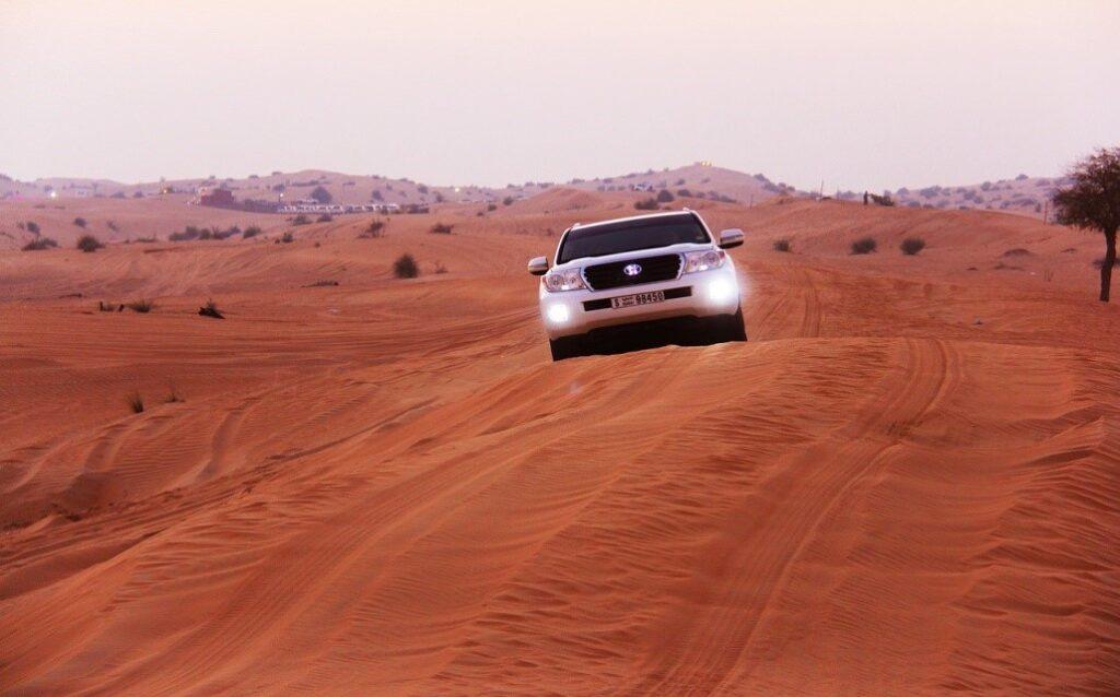 desert safari on dubai bucket list